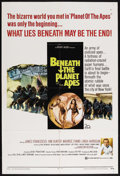 """Movie Posters:Science Fiction, Beneath the Planet of the Apes (20th Century Fox, 1970). One Sheet (27"""" X 41""""). Science Fiction. Starring James Franciscus, ..."""