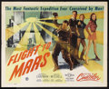 "Movie Posters:Science Fiction, Flight to Mars (Monogram, 1951). Half Sheet (22"" X 28"") Style A.Science Fiction. Starring Marguerite Chapman, Cameron Mitch..."