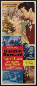 "Movie Posters:Adventure, Quentin Durward (MGM, 1955). Insert (14"" X 36""). Adventure.Starring Robert Taylor, Kay Kendall and Robert Morley. Directed ..."
