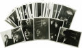 Music Memorabilia:Photos, Rolling Stones Candid Photos with Negatives. Set of 37 b&wcandid snapshots of the Stones circa the mid-'60s, featuring the...