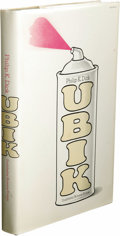 Books:First Editions, Philip K. Dick: Ubik. (Garden City, New York: Doubleday,1969), first edition, 202 pages, gray cloth with silver letteri...