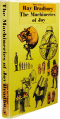 Books:First Editions, Ray Bradbury: The Machineries of Joy. (New York: Simon &Schuster, 1964), first edition, 255 pages, yellow quarter cloth...