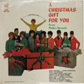 """Music Memorabilia:Recordings, Various Artists """"A Christmas Gift For You"""" Sealed Mono LP (Philles4005, 1963). It's a Philles Records/ Phil Spector-produc..."""