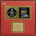 "Music Memorabilia:Awards, ""Joseph and the Amazing Technicolor Dreamcoat"" UK Gold Album Award.Presented to George McManus to commemorate the sale of 1..."