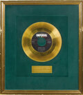"Music Memorabilia:Awards, Slim Whitman ""Secret Love"" Imperial Gold Record Award (1958). DorisDay took the song to #1 on the Pop charts in 1954, but S..."