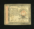 Colonial Notes:Continental Congress Issues, Continental Currency January 14, 1779 $65. This is a lovely exampleof a higher denomination note from this final Continenta...