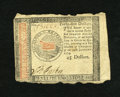 Colonial Notes:Continental Congress Issues, Continental Currency January 14, 1779 $45 Very Fine. This note hasone faded signature and it looks like it was originally t...