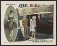 "Silk Legs (Fox, 1927). Lobby Card (11"" X 14""). Comedy. Starring Madge Bellamy, James Hall, Joseph Cawthorn, Ma..."