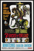 "Movie Posters:Fantasy, The 7 Faces of Dr. Lao (MGM, 1964). One Sheet (27"" X 41""). Fantasy.Starring Tony Randall, Barbara Eden, Arthur O'Connell, J..."