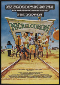 "Nickelodeon (Columbia, 1976). British One Sheet (27"" X 40""). Comedy. Starring Ryan O'Neal, Burt Reynolds, Bria..."
