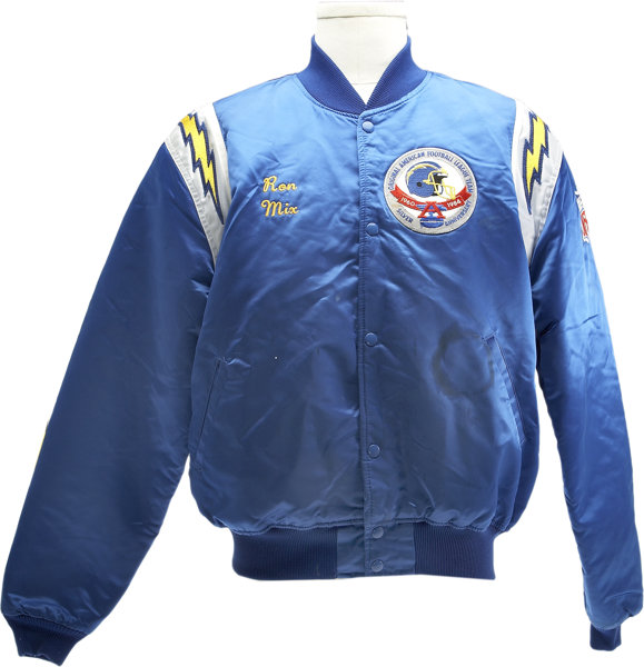 more photos fda49 54ea8 1984 San Diego Chargers 25th Anniversary Personal Jacket of ...