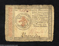 Colonial Notes:Continental Congress Issues, January 14, 1779, $3, Continental Congress Issue, CC-89, VF. ...