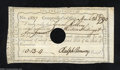 Colonial Notes:Connecticut, Connecticut Fiscal Paper, 13s 4d, AU. This is a rather nice ...