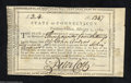 Colonial Notes:Connecticut, Connecticut Fiscal Paper, 3L 4s, XF. This is an attractive ...