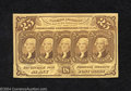 Fractional Currency:First Issue, First Issue 25c, Fr-1282, CU. This is a lovely example of the ...