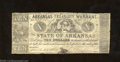 Obsoletes By State:Arkansas, 1862 $10 Arkansas Treasury Warrant, Little Rock, AR, Cr. 58, ...