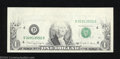 Error Notes:Missing Face Printing (<100%), 1988-A $1 Federal Reserve Note, Fr-1915-D, Gem Crisp ...