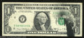 Error Notes:Ink Smears, 1969-D $1 Federal Reserve Note, Fr-1907-F, Very Fine. A nice ...