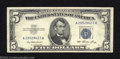 Error Notes:Miscellaneous Errors, 1953 $5 Silver Certificate, Fr-1655, Very Fine-Extremely Fine. ...