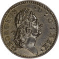 Colonials, 1722 1/2P Rosa Americana Halfpenny, D. G. REX MS61 Brown PCGS....