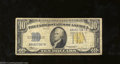 Small Size:World War II Emergency Notes, 1934-A $10 North Africa Silver Certificate, Fr-2309, Very Good....