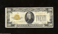 Small Size:Gold Certificates, 1928 $20 Gold Certificate, Fr-2402, Fine-VF. There are a ...