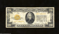 Small Size:Gold Certificates, 1928 $20 Gold Certificate, Fr-2402, Fine-VF. A well margined ...