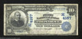 National Bank Notes:Missouri, Independence, MO - $10 1902 Plain Back Fr. 627 The First ...