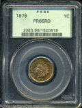 Proof Indian Cents: , 1878 PR 66 Red PCGS. ...