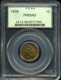 Proof Indian Cents: , 1908 PR 65 Red PCGS. The current Coin Dealer Newsletter (...