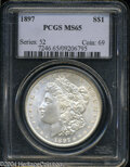 Morgan Dollars: , 1897 MS65 PCGS. The current Coin Dealer Newsletter (...