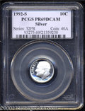 Proof Roosevelt Dimes: , 1992-S Silver PR 69 Deep Cameo PCGS. ...