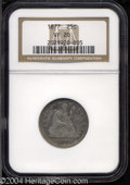 Seated Quarters: , 1877 VF20 NGC. The current Coin Dealer Newsletter (...