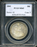 Seated Half Dollars: , 1841 MS65 PCGS. The current Coin Dealer Newsletter (...