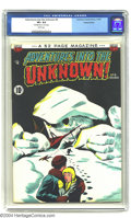 Golden Age (1938-1955):Horror, Adventures Into the Unknown #9 Diamond Run pedigree (ACG, 1950) CGCVF+ 8.5 White pages. Highest grade yet assigned by CGC f...