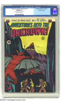 Golden Age (1938-1955):Horror, Adventures Into the Unknown #10 White Mountain pedigree (ACG, 1950)CGC VF/NM 9.0 Off-white to white pages. Highest grade ye...