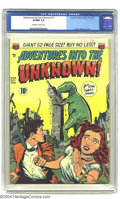 Golden Age (1938-1955):Horror, Adventures Into the Unknown #13 (ACG, 1950) CGC VF/NM 9.0 Off-whiteto white pages. Ogden Whitney cover. Overstreet 2003 VF/...