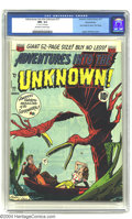 Golden Age (1938-1955):Horror, Adventures Into the Unknown #17 Diamond Run pedigree (ACG, 1951)CGC NM- 9.2 Off-white to white pages. Ogden Whitney cover. ...
