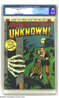 Golden Age (1938-1955):Horror, Adventures Into the Unknown #19 Diamond Run pedigree (ACG, 1951)CGC NM- 9.2 White pages. Ogden Whitney cover. Highest grade...