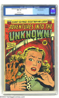 Golden Age (1938-1955):Horror, Adventures Into the Unknown #22 White Mountain pedigree (ACG, 1951)CGC NM- 9.2 Off-white pages. Ogden Whitney cover. Overst...