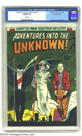 Golden Age (1938-1955):Horror, Adventures Into the Unknown #27 White Mountain pedigree (ACG, 1952)CGC VF/NM 9.0 White pages. Al Williamson and Roy Krenkel...