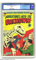 Golden Age (1938-1955):Horror, Adventures Into the Unknown #29 White Mountain pedigree (ACG, 1952)CGC NM- 9.2 White pages. Ogden Whitney cover. Overstreet...