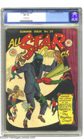 Golden Age (1938-1955):Superhero, All-Star Comics #25 (DC, 1945) CGC FN- 5.5 Off-white pages. Starring the Justice Society. There is currently only one copy o...