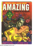 Golden Age (1938-1955):Science Fiction, Amazing Adventures #4 (Ziff-Davis, 1951) Condition: VG. Greatpainted Robot cover. Overstreet 2003 VG 4.0 value = $78....