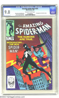 Modern Age (1980-Present):Superhero, Amazing Spider-Man #252 (Marvel, 1984) CGC NM/MT 9.8 Off-white towhite pages. First appearance of black costume. Highest gr...