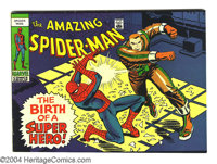 Amazing Spiderman giveaway #nn (Marvel, 1969) Condition: FN. Miniature edition given away with copies of either Eye or...
