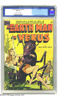 Golden Age (1938-1955):Science Fiction, An Earth Man on Venus nn (Avon, 1951) CGC FN+ 6.5 Off-white towhite pages. Fawcette created another wondrous cover for this...