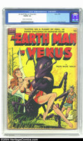 Golden Age (1938-1955):Science Fiction, An Earth Man on Venus nn (Avon, 1951) CGC VG/FN 5.0 Cream tooff-white pages. Gene Fawcette cover; Wally Wood interior art. ...