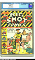 Golden Age (1938-1955):Miscellaneous, Big Shot Comics #6 (Columbia, 1940) CGC FN/VF 7.0 Off-white to white pages. Tied with one other copy of this issue as CGC's ...
