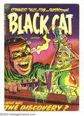 Golden Age (1938-1955):Horror, Black Cat Mystery #46 (Harvey, 1953) Condition: GD/VG. HowardNostrand art. Overstreet 2003 GD 2.0 value = $24; VG 4.0 value...